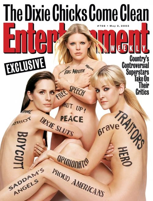 27. Entertainment Weekly, 2 ��� 2003 �������������� ���������� �������� ������ Dixie Chicks.