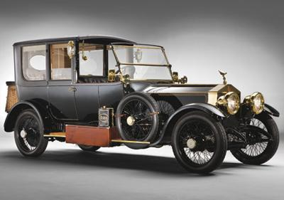 Rolls-Royce Silver Ghost семьи Дюпон