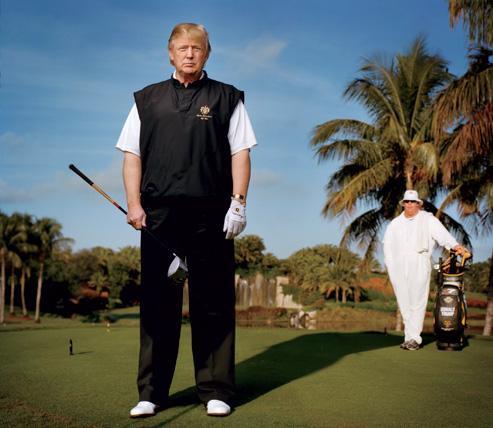 Трамп хотел сделать площадку, на которой бы проходил Открытый чемпионат Великобритании по гольфу. Здесь он столкнулся с негативно настроенными местными жителями и группами защитников окружающей среды, защищающими сохранность дюн, которым уже 4 тысячи лет и которые объявлены местом особого научного интереса. План строительства не был принят местным комитетом планирования, а в настоящее время он согласовывается в шотландском парламенте.