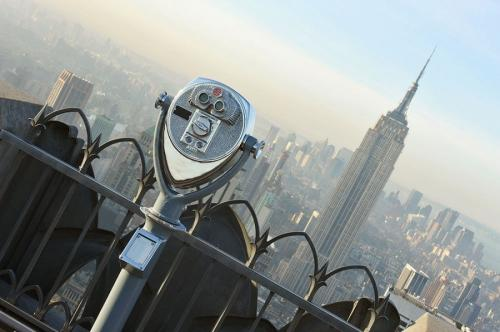 ��������� �������� Top of the Rock, ���-����. ��������� �� 70 ����� ������ �� ������ ���������-������.