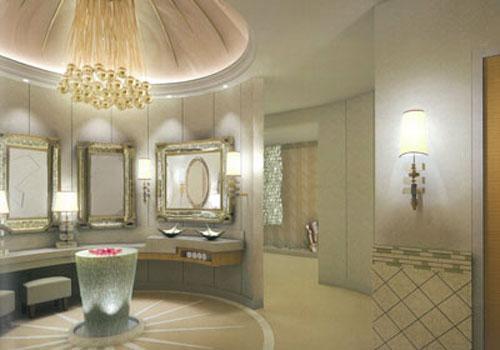 Соседние помещения займут бар, комнаты отдыха и несколько роскошных туалетов — то есть весь этаж будет напоминать частный развлекательный центр.