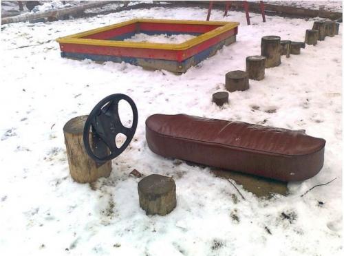Руль для детской площадки