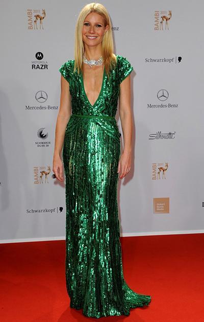 Зеленые платья на звездах
