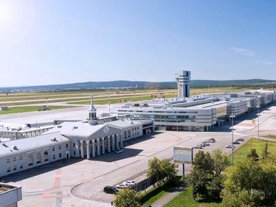 Лучший аэропорт СНГ - Аэропорт Кольцово, Екатеринбург, Россия