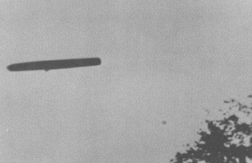 Самые известные фотографии НЛО в небесах