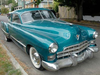21. 1948 Cadillac Series 62 Club Coupe