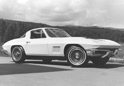 4. 1967 Chevrolet Corvette Coupe