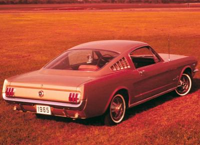 36. 1965 Ford Mustang 2+2