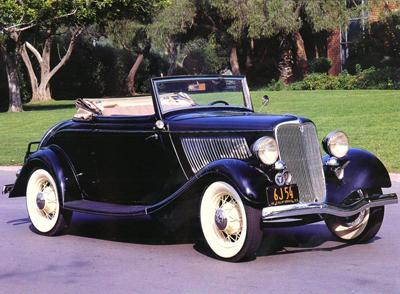 28. 1933 Ford Cabriolet
