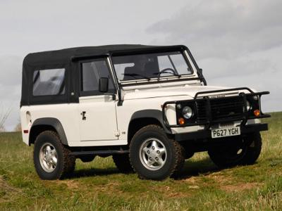 78. 1997 Land Rover Defender 90