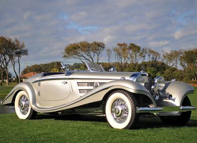 50. 1937 Mercedes-Benz 540K Special Roadster