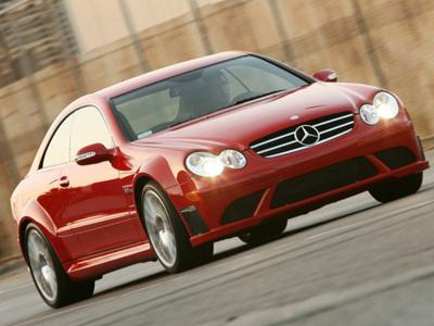 87. 2008 Mercedes-Benz CLK63 AMG Black Series