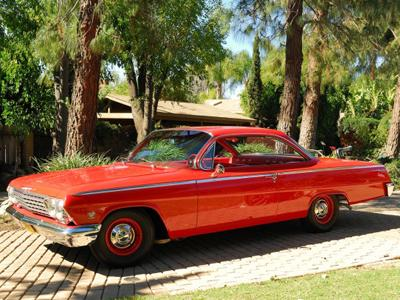 56. 1962 Chevrolet Bel Air Sport Coupe