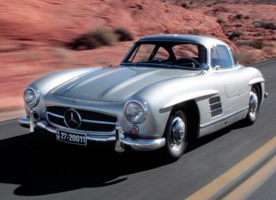 19. 1955 Mercedes-Benz 300SL