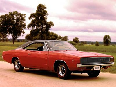 16. 1968 Dodge Charger
