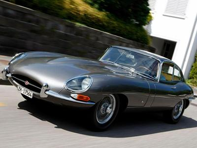 7. 1961 Jaguar E-Type