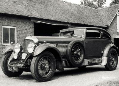 31. 1929 Bentley Speed 6 Gurney Nutting Fixed Head Coupe