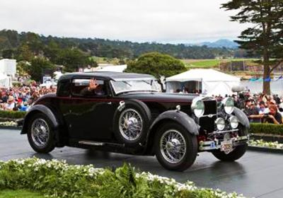 62. 1930 Stutz M Lancefield Coupe