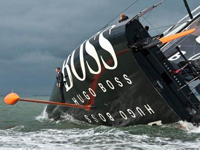 ����� ������� (Alex Thomson), ������� �������� ����  �Hugo Boss�, �� ����� ���������� ����� �keelwalk� ����� ������ ��������� ��������������.
