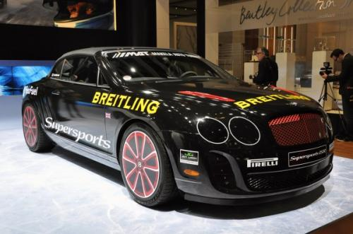 2. Bentley Supersports Ice Speed Record