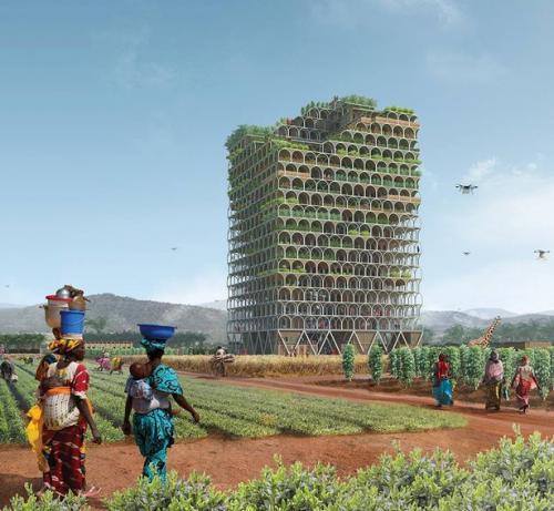 10 невероятных идей для зданий будущего: айсберг, Марс и дом-ферма
