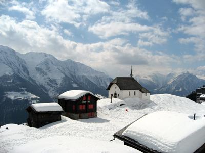 6. Беттмеральп (Bettmeralp), Швейцария