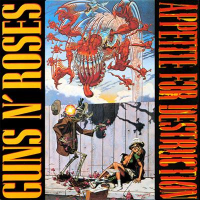 Guns n`Roses - «Appetite for Destruction» (1987)