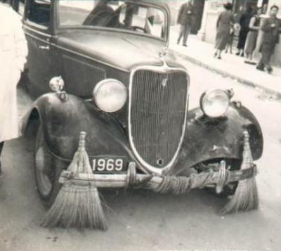 Машина для подметания улиц (1920-е годы)