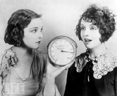 Йодльметр - измеритель чистоты альпийского напева (1925)