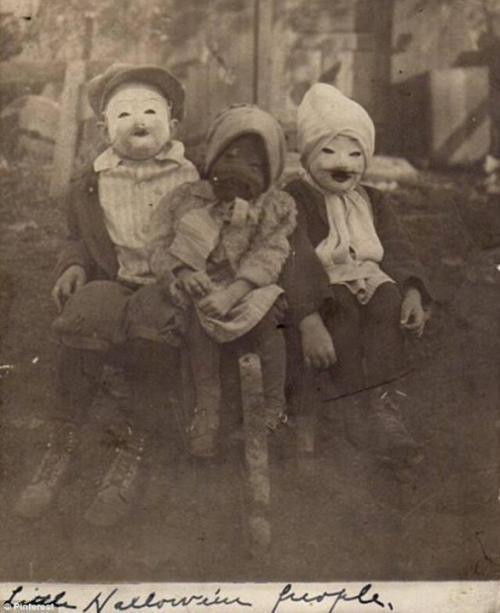 Хэллоуин 1900.