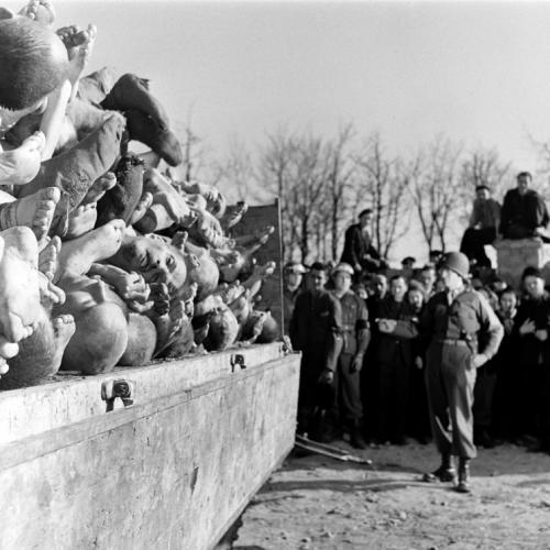 Бухенвальд, апрель 1945 года.