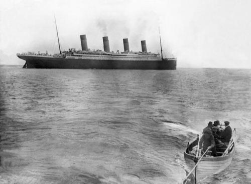 Последнее фото Титаника, 1912.