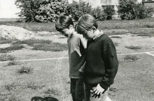 Одна из первых встреч Дэниел Рэдклиффа и Руперта Гринта.