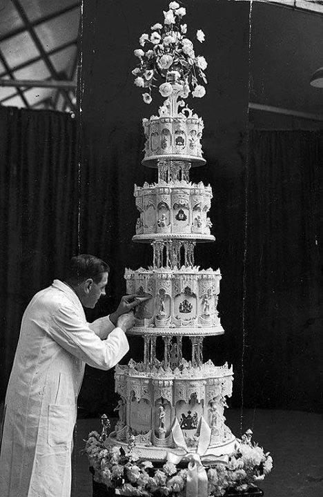 Свадебный торт королевы Елизаветы II, 1947.