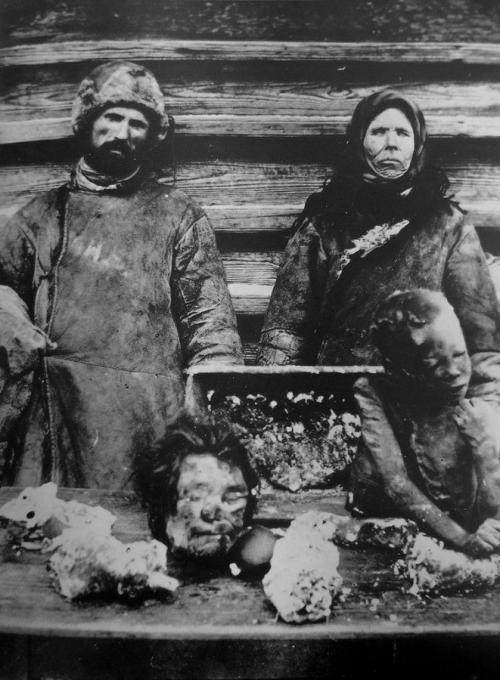 Голод в Поволжье, каннибализм, 1921 г.