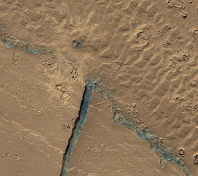Долина Athabasca Valles