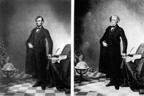 Одним из первых сфальсифицированных фото стал знаменитый портрет Авраама Линкольна, сделанный в 1860 году…К сожалению, от Линкольна здесь только голова, тело принадлежит Джону Калхоуну…