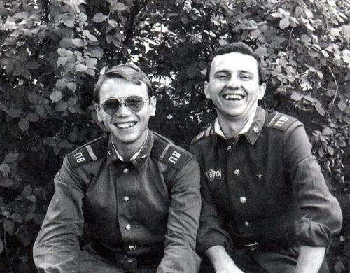 Владимир Бегунов и Владимир Шахрин