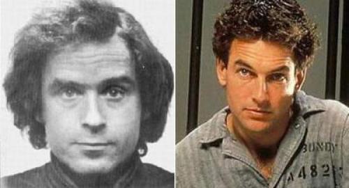 """""""Осторожный незнакомец"""", 1986. Марк Хармон в роли Теда Банди Сам термин """"серийный убийца"""" впервые был использован именно в отношении Теодора Банди. С юности он увлекался психологией и читал много книг о сексуальных преступлениях."""
