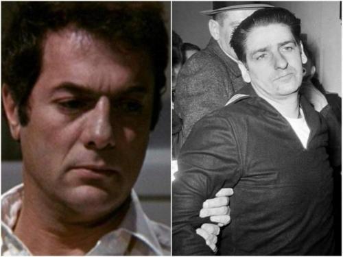 """""""Бостонский душитель"""", 1968. Тони Кертис в роли Альберта де Сальво Признался в убийстве и изнасиловании 13 женщин, однако цифра может быть в три раза больше. Де Сальво был осужден пожизненно, но в ноябре 1973 года маньяка зарезали в тюрьме."""