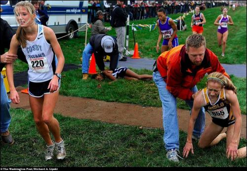 "�� ������ ����� ���� �� ����� ������ ""Virginia State Cross Country Championships""."
