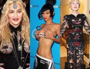 Звезды за 50 лет, которые не стесняются носить откровенные наряды