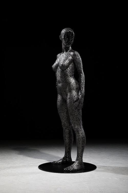 Выкованные из велосипедных цепей: скульптуры Сео Янг-Деока