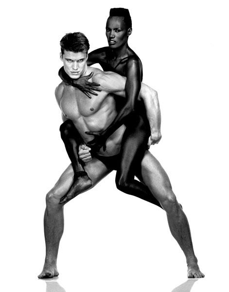 ����� ����� (Grace Jones) � ����� �������� (Dolph Lundgren), 1983