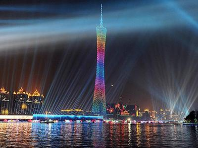 1. Телебашня Гуанчжоу (Canton Tower), Гуанчжоу, КНР