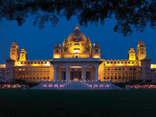 4. Umaid Bhawan Palace, Джодхпур, Индия