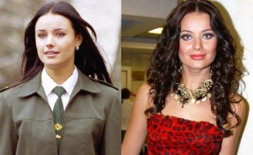 """Оксана ФедороваВнести изменения во внешность решила даже победительница конкурса красоты """"Мисс Вселенная"""" в 2002."""