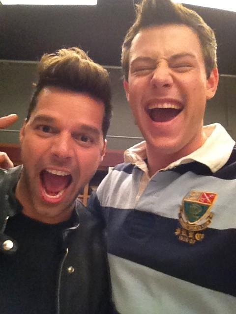����� ������ (Ricky Martin) � ���� ������� (Cory Monteith)