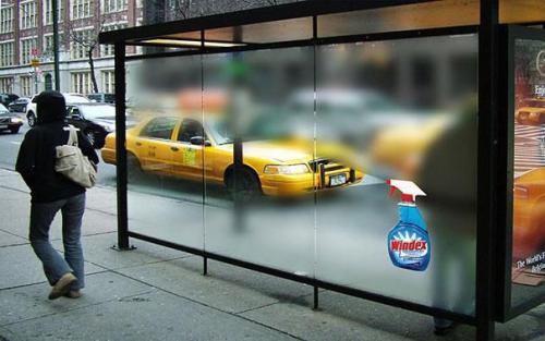 Реклама стеклоочистителя