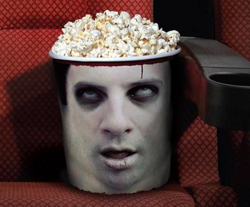 Реклама фестиваля фильмов ужасов